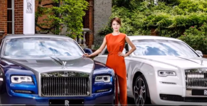 Rolls-Royce Special-Edition Ghost And Wraith For South Korea