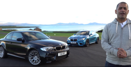 Top Gear BMW M2 vs BMW 1M Coupe With Chris Harris