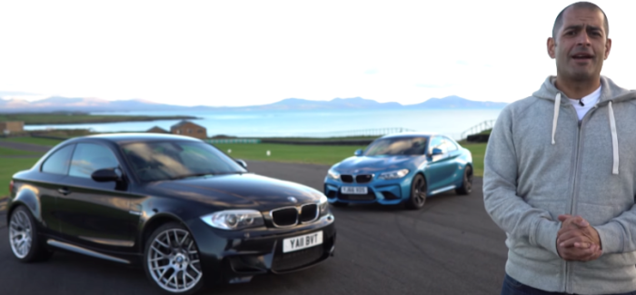 Top Gear BMW M2 vs BMW 1M Coupe With Chris Harris – Video