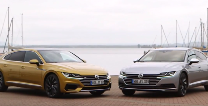 VW Arteon Elegance and Arteon R Line