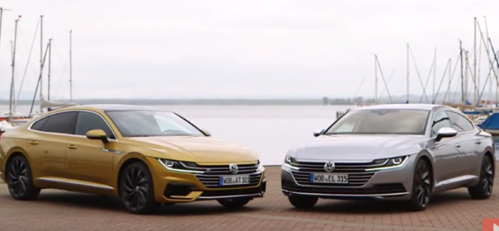 vw arteon elegance and arteon r line video dpccars. Black Bedroom Furniture Sets. Home Design Ideas