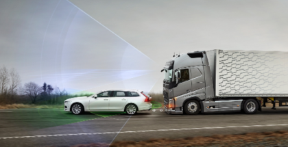 Volvo Trucks Intelligent Safety System Emergency Brake