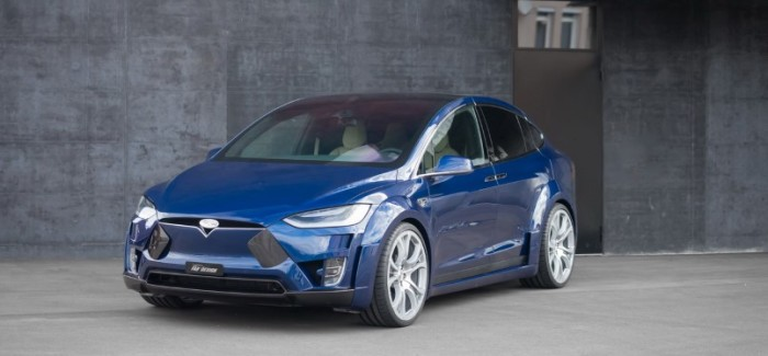 Widebody Tesla Model X By FAB Design