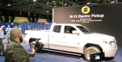 Workhorse W-15 Electric Pickup Truck Unveiling