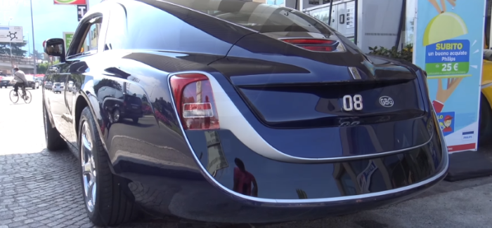 $12.8 Million Rolls Royce Sweptail At A Gas Station – Video