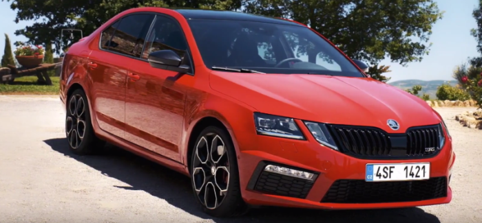 2017 skoda octavia rs 245 review video dpccars. Black Bedroom Furniture Sets. Home Design Ideas