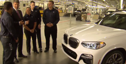 2018 BMW X3 Factory Assembly Plant