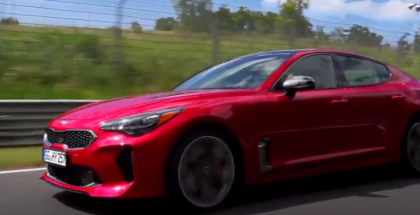 2018 Kia Stinger Test & Development