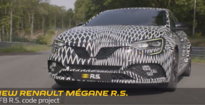 2018 Renault Mégane RS Development