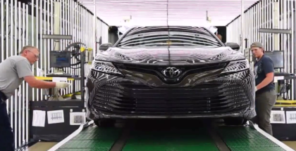 2018 Toyota Camry Assembly Factory Plant