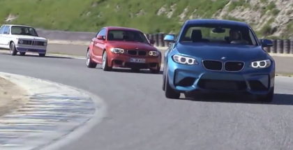 BMW M2, BMW 1M Coupe, and BMW 2002 Turbo (1)