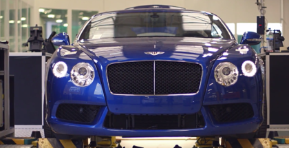 Bentley Continental GT & Mulsanne Tesing At Factory (1)