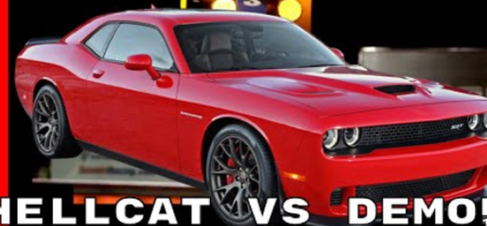 Dodge Challenger Hellcat vs Demon – Video