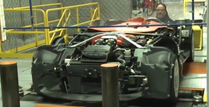 Dodge Viper Dyno Test Before Final Assembly  (1)