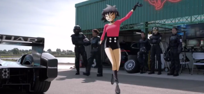 Jaguar Land Rover and Gorillaz App – Video