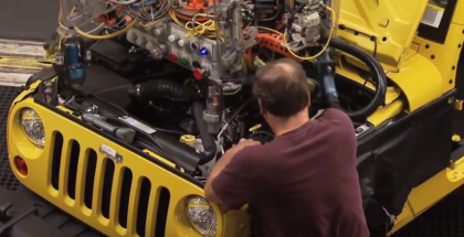 Jeep Wrangler Assembly Factory