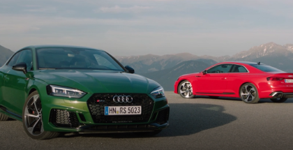 Misano Red & Sonoma Green 2018 Audi RS5