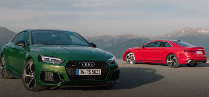 Misano Red Amp Sonoma Green 2018 Audi Rs5 Drive Exterior Interior Video Dpccars