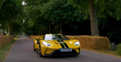 New 2017 Ford GT At Goodwood Festival of Speed 2017