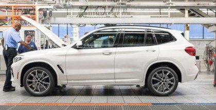 New BMW X3, X4, X5, & X6 Body, Paint Shop, & Assembly Factory