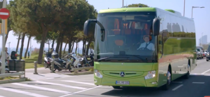 New Mercedes Benz Tourismo RHD Touring Bus – Video