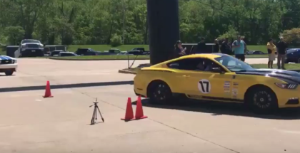 Shelby Mustangs Autocross At ShelbyFest