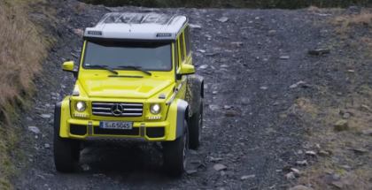 Top Gear Mercedes G500 4x4 Squared Chris Harris Review (1)
