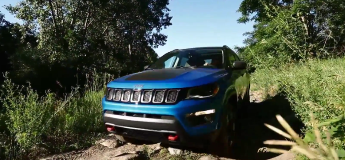 2017 Jeep Compass Design & Off Roading with Audrey Moore – Video