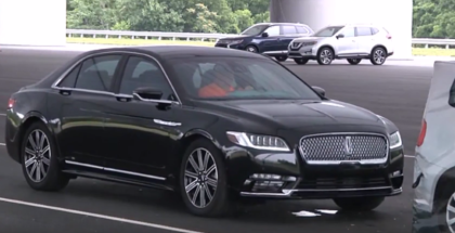 2017 Lincoln Continental Top Safety Pick+ Award (1)