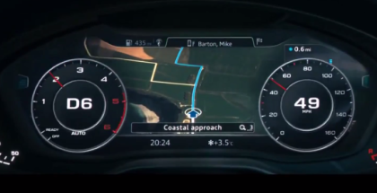 2018 Audi A4 Virtual Cockpit Instrument Cluster