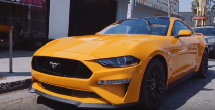 2018 Ford Mustang GT Inspired Ice Cream