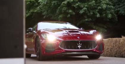 2018 Maserati GranTurismo Goodwood Run (1)