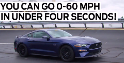 2018 Mustang GT 60MPH In Under Four Seconds