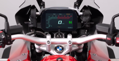 BMW Motorrad Connectivity TFT Display & Connected App