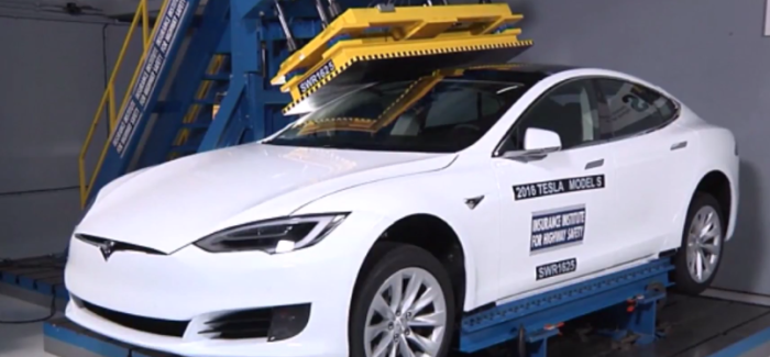 Crushing A Tesla Model S P100D – Video