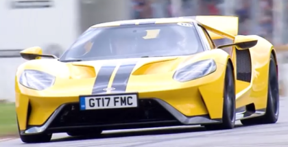 New Ford GT At Goodwood