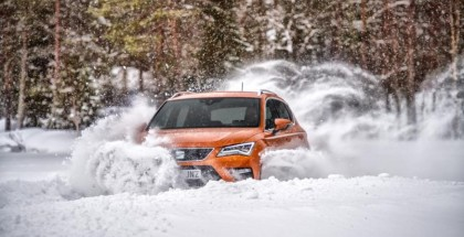 Seat Ateca Snow & Ice Off-Road Driving