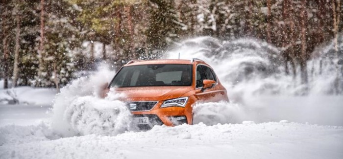 Seat Ateca Snow & Ice Off-Road Driving – Video