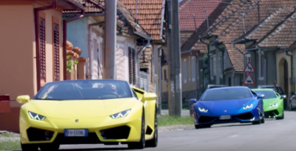 Six Lamborghini Huracán On The Most Beautiful Roads In The World