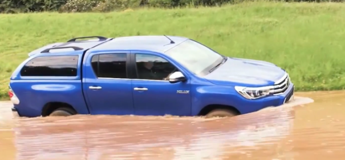 Toyota Hilux Off-Road Features & Options – Video