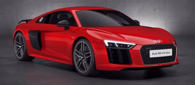 Audi r8 top speed run 10