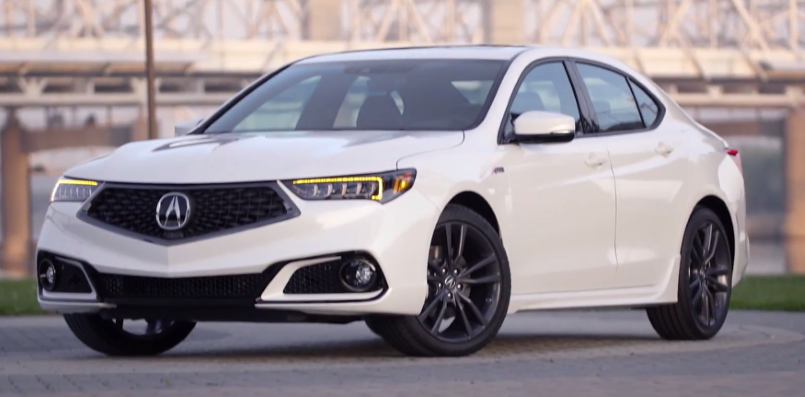 2018 Acura TLX V6 A-Spec & Advance Package – Video | DPCcars