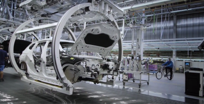 2018 BMW X1 Factory Assembly Plant
