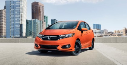 2018 Honda Fit Sport - Orange Fury