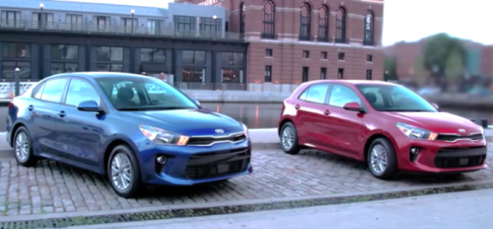 2018 Kia Rio Sedan & Hatchback 5-door