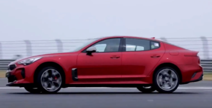 2018 Kia Stinger K-Driving School