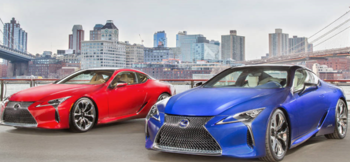 2018 Lexus LC500 and 500h – Video