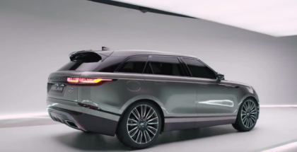 2018 Range Rover Velar At Milan Design Week