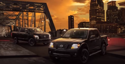 2018 TITAN and TITAN XD & 2018 Nissan Frontier Midnight Editions