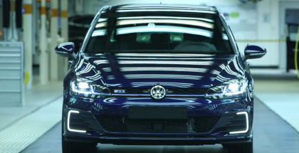 2018 VW Golf Production Assembly Factory